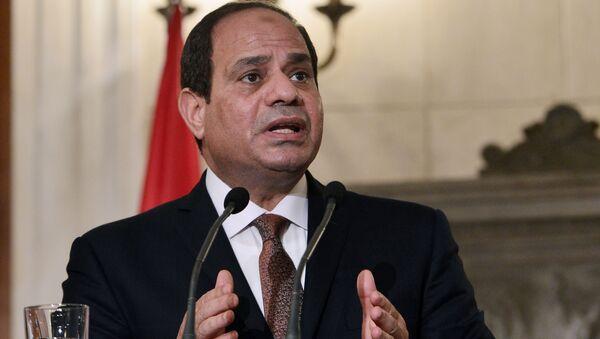 Il presidente egiziano Abdel Fatah al-Sisi - Sputnik Italia