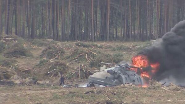 Crollo di un elicottero - Sputnik Italia