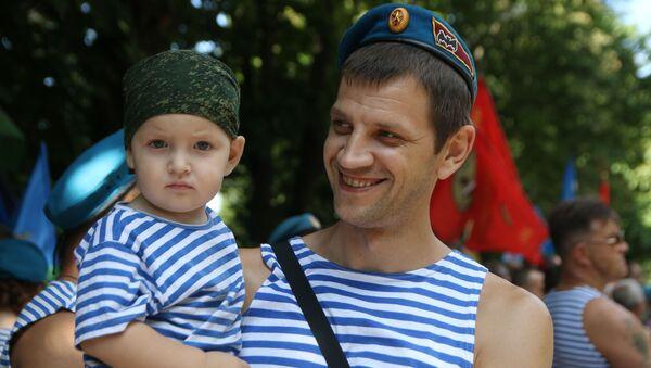 Giornata delle Truppe Aviotrasportate in Russia. - Sputnik Italia
