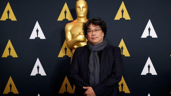 Il regista sudcoreano Bong Joon-ho del film Parasite, Oscar 2020 - Sputnik Italia