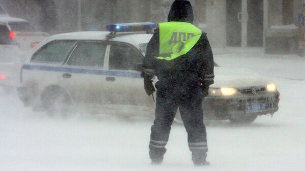 Polizia stradale russa - Sputnik Italia