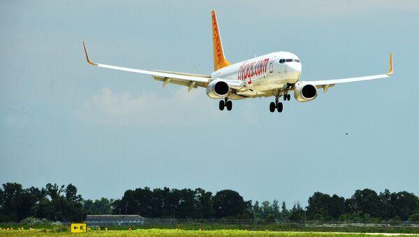 Un aereo Pegasus Airlines - Sputnik Italia