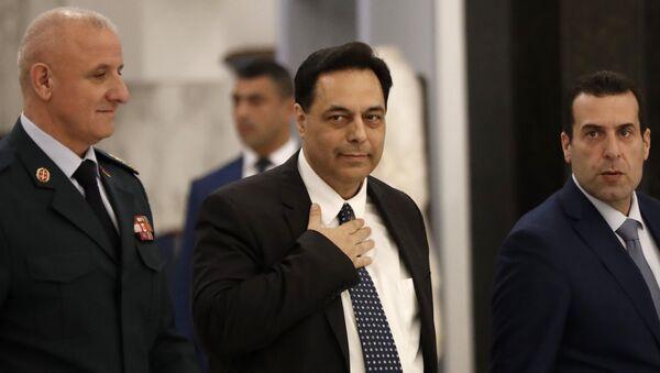 Il nuovo primo ministro libanese Hassan Diab - Sputnik Italia