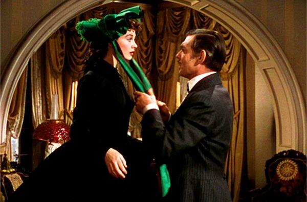 Vivien Leigh e Clark Gable nel film Via col vento, 1939  - Sputnik Italia