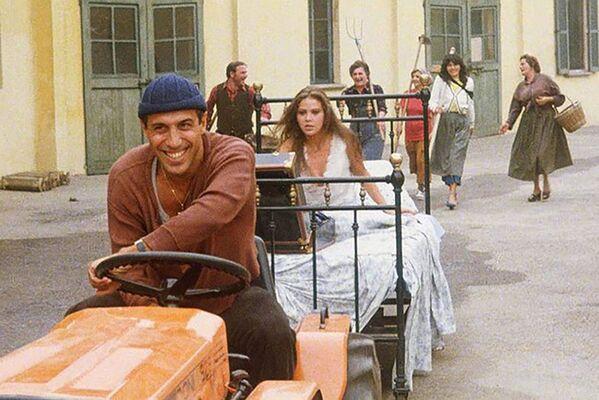 Ornella Muti e Adriano Celentano nel film Il bisbetico domato, 1980 - Sputnik Italia