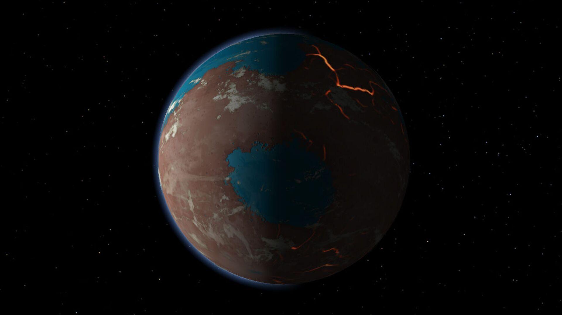 Un modello della formazione di Marte - Sputnik Italia, 1920, 21.09.2021