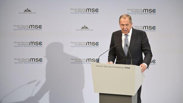 Sergey Lavrov alla Conferenza sulla Sicurezza di Monaco di Baviera - Sputnik Italia