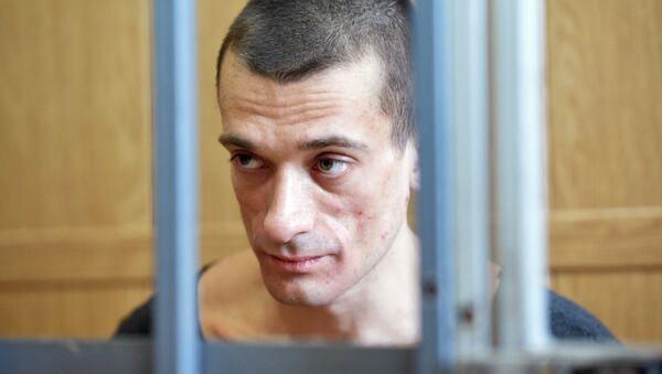 L'attivista-artista russo Pyotr Pavlensky - Sputnik Italia