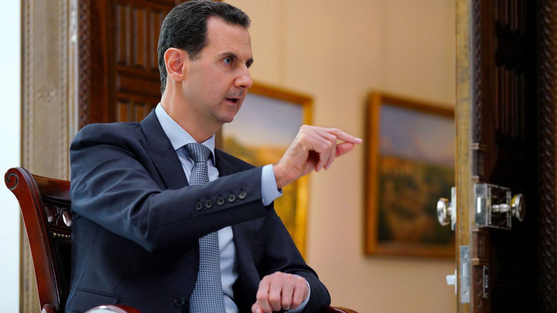 Il presidente siriano Basah al-Assad - Sputnik Italia, 1920, 26.05.2021
