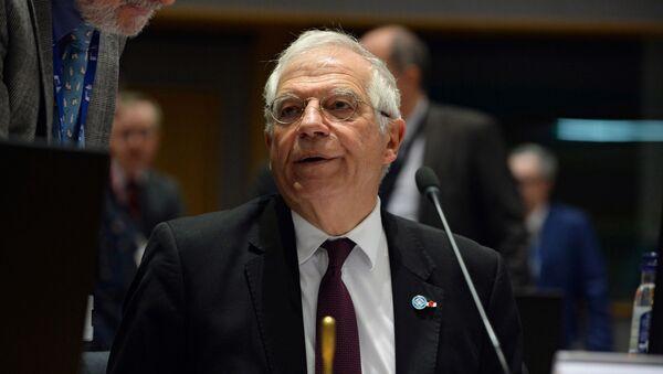 L'alto rappresentante dell'Unione Europea per gli Affari Esteri e la Politica di Sicurezza Josep Borrell  - Sputnik Italia