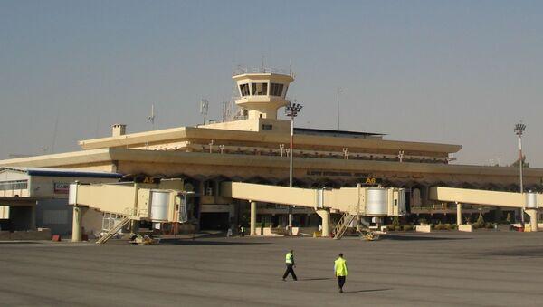 Aeroporto di Aleppo, in Siria (foto d'archivio) - Sputnik Italia