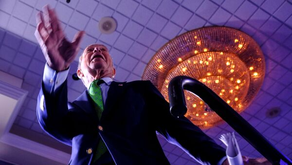 FILE PHOTO: Michael Bloomberg, the billionaire media mogul and former New York City mayor, now Democratic candidate gets on stage for his kick off 'United for Mike' at the Aventura Turnery Jewish Center and Tauber Academy Social in Miami, Florida, U.S., January 26, 2020 - Sputnik Italia
