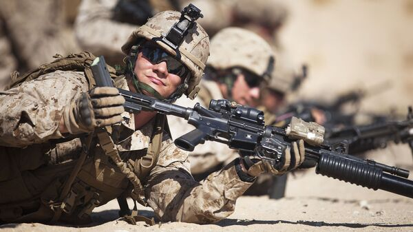 Marines statunitensi durante esercitazioni - Sputnik Italia