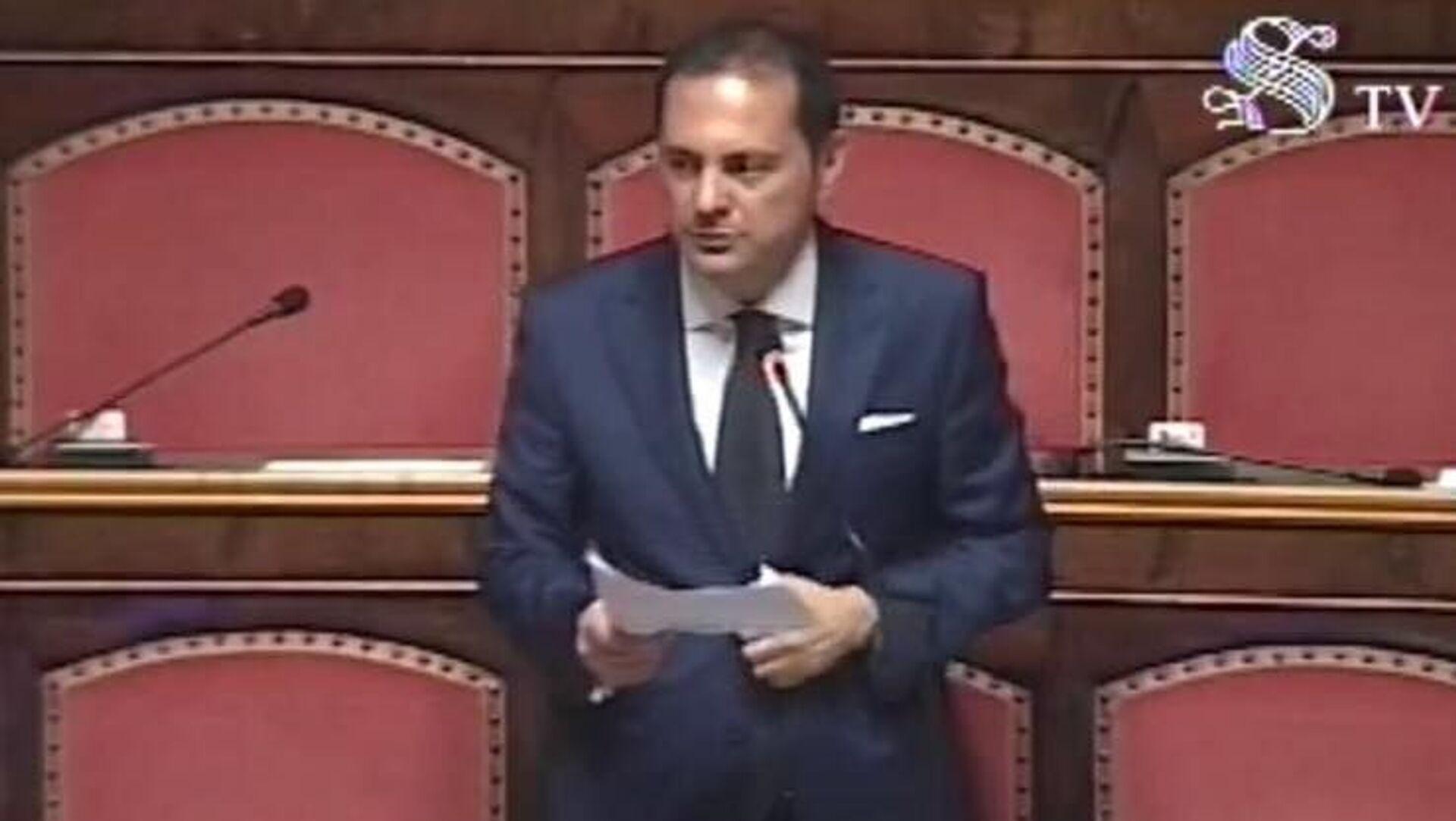 Marco Siclari, senatore della Repubblica Italiana - Sputnik Italia, 1920, 29.09.2021