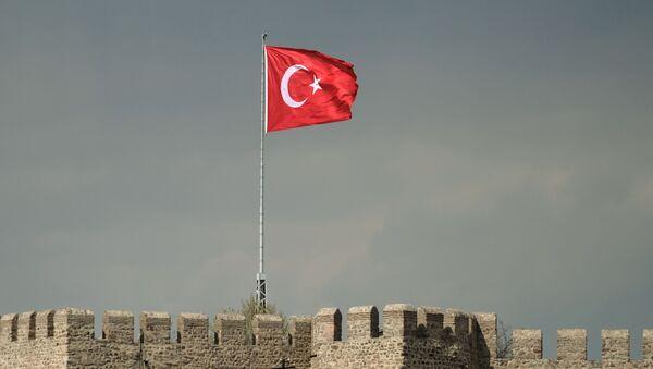 Bandiera turca ad Ankara - Sputnik Italia