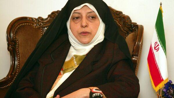 Masoumeh Ebtekar, vice presidente iran - Sputnik Italia