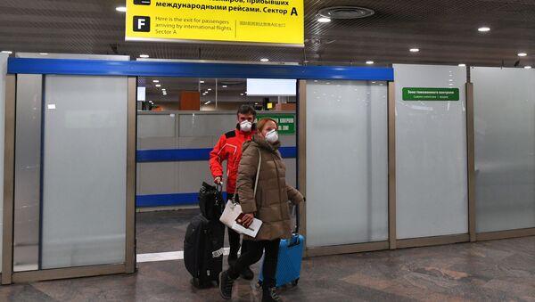 L'aeroporto Sheremetyevo - Sputnik Italia