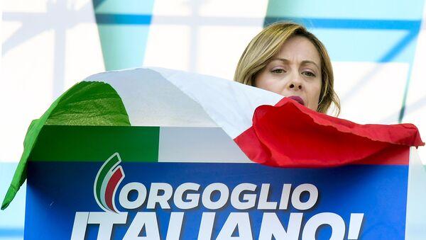 Il leader di Fratelli d'Italia Giorgia Meloni - Sputnik Italia