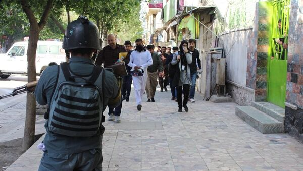 Polizia in Afghanistan - Sputnik Italia