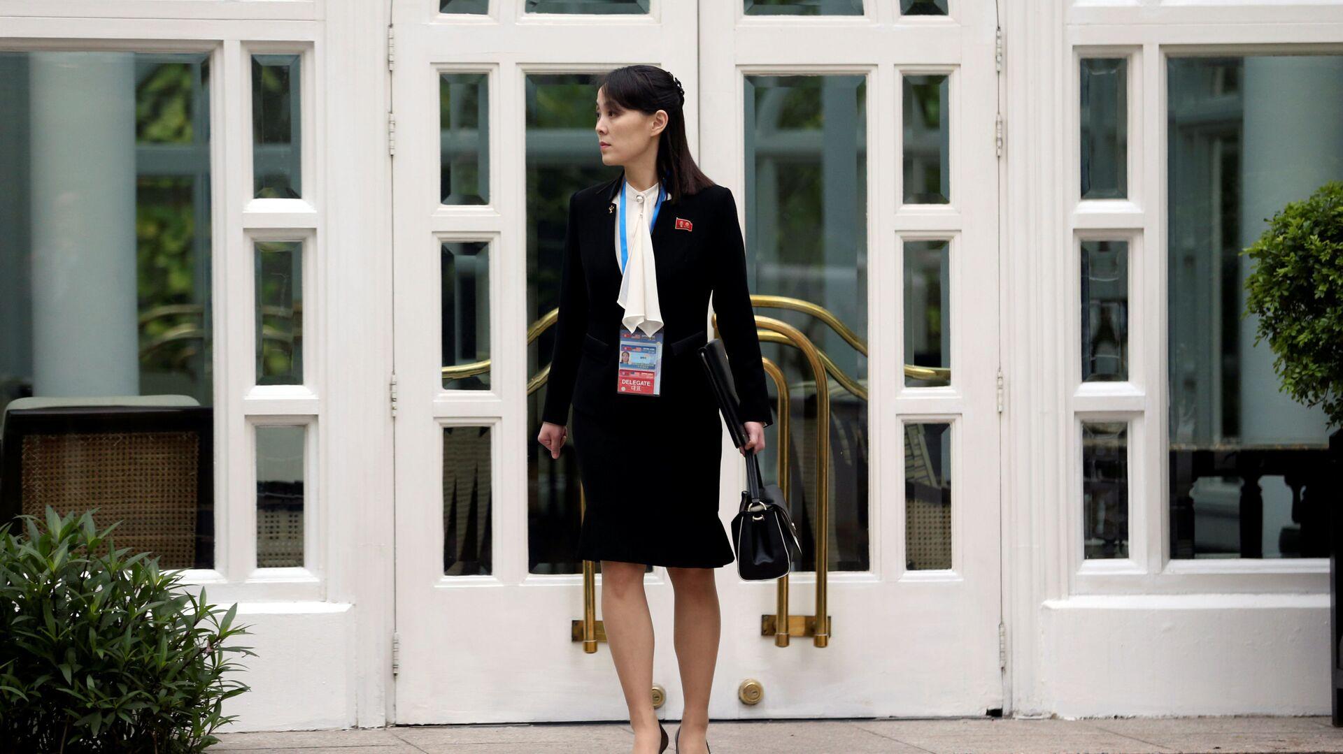 Sorella minore del leader della Repubblica Popolare Democratica di Corea e la vicedirettrice del Comitato Centrale del Partito del Lavoro Kim Yo-jong  - Sputnik Italia, 1920, 24.09.2021