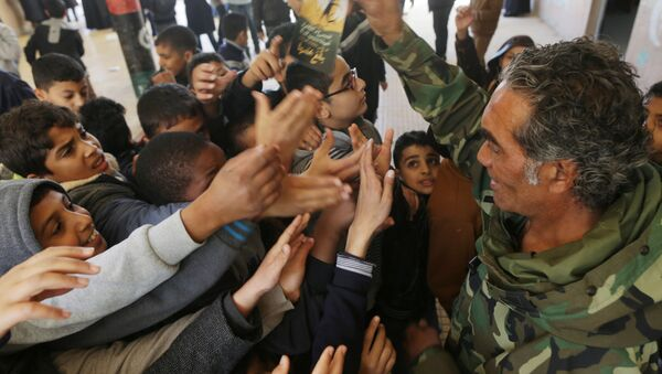 Bambini in Libia - Sputnik Italia
