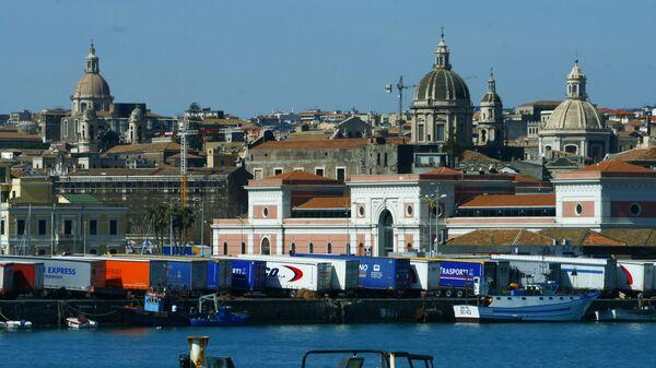 Il porto di Catania - Sputnik Italia