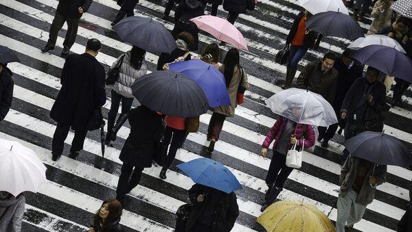 Pioggia in Giappone - Sputnik Italia