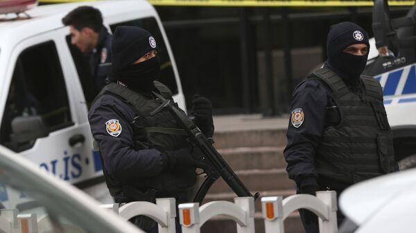La polizia turca - Sputnik Italia