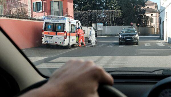 Pronto soccorso a Codogno - Sputnik Italia