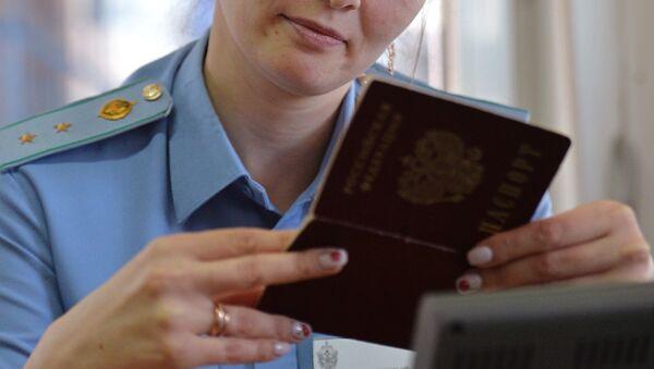 Controllo dei passaporti - Sputnik Italia
