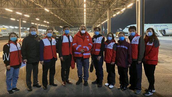 Coronavirus, un team medico cinese a Roma - Sputnik Italia