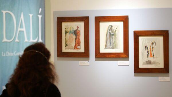 Illustrazioni di Salvador Dalí per la Divina Commedia di Dante - Sputnik Italia