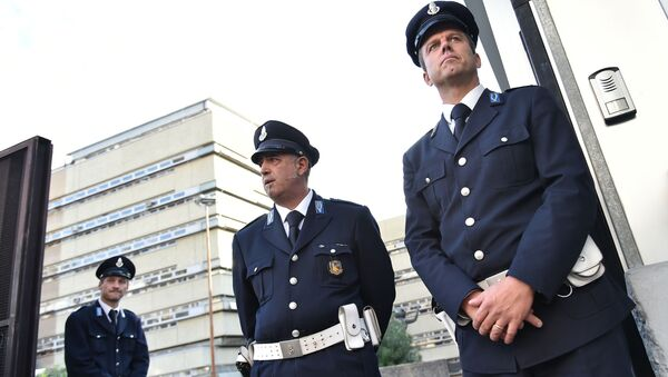Guardie a Roma prima di un processo contro mafiosi - Sputnik Italia