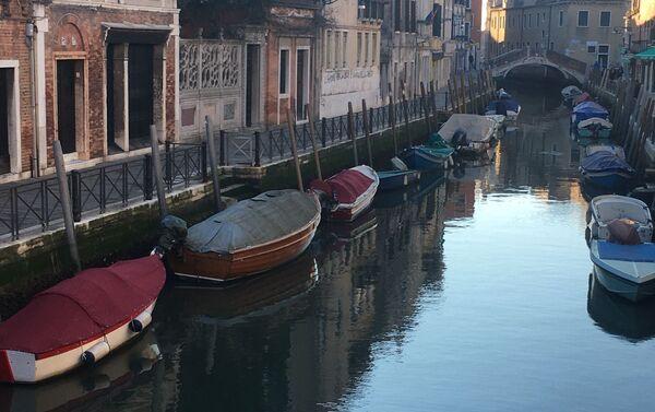 Rio del Gaffaro a Venezia - Sputnik Italia