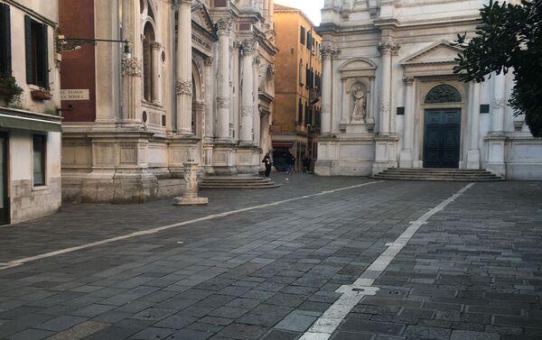 Campo San Rocco a Venezia - Sputnik Italia