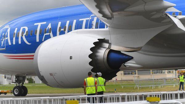 Boeing Boeing 787 Dreamliner Air Tahiti Nui all'aeroporto di Le Bourget - Sputnik Italia