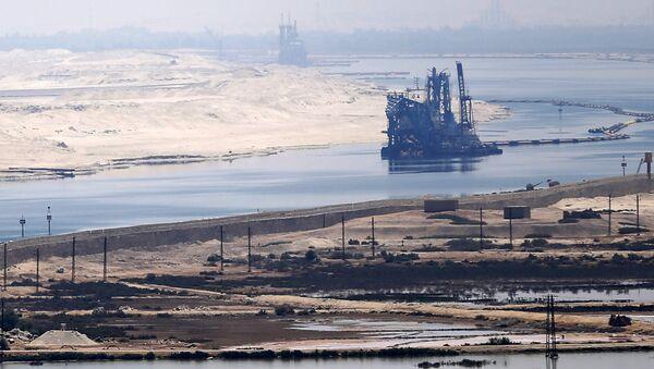Il panorama del Canale di Suez - Sputnik Italia