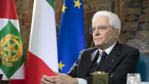 Il Presidente della Repubblica Sergio Mattarella - Sputnik Italia