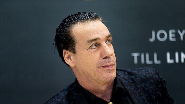 Till Lindermann, cantante dei Rammstein - Sputnik Italia
