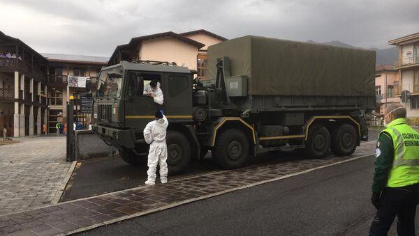Operazione Dalla Russia con amore, intervento dei militari russi in Val Seriana - BG - Sputnik Italia