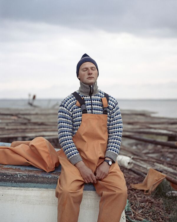 Lo scatto Karolis. The young fisherman del fotografo lituano Tadas Kazakevicius - Sputnik Italia
