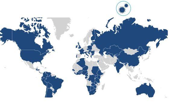 Pubblicata una mappa con le libertà civili durante l'epidemia di COVID-19 - Sputnik Italia