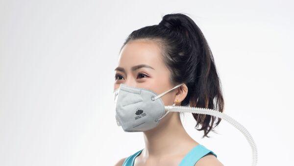 Le nuove mascherine antivirus elettrostatiche dalla Cina - Sputnik Italia