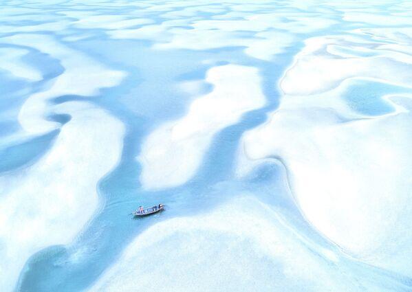Lo scatto Low tide day di un fotografo vietnamita al concorso The World's Best Photos of #Water2020. - Sputnik Italia