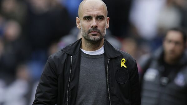 Il tecnico del Manchester City Pep Guardiola  - Sputnik Italia