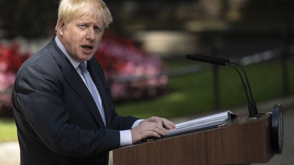 Il primo ministro del Regno Unito Boris Johnson - Sputnik Italia