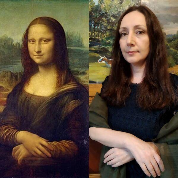 Mona Lisa di Leonardo da Vinci, 1503–1506 - Sputnik Italia