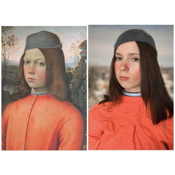 Ritratto di un ragazzo di Pinturicchio, 1500 - Sputnik Italia