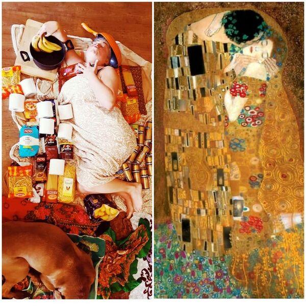Il bacio di Gustav Klimt, 1907-08 - Sputnik Italia