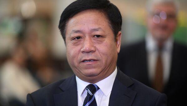 L'ambasciatore cinese a Mosca Zhang Hanhui - Sputnik Italia